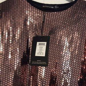 Over size Sequin T-Shirt